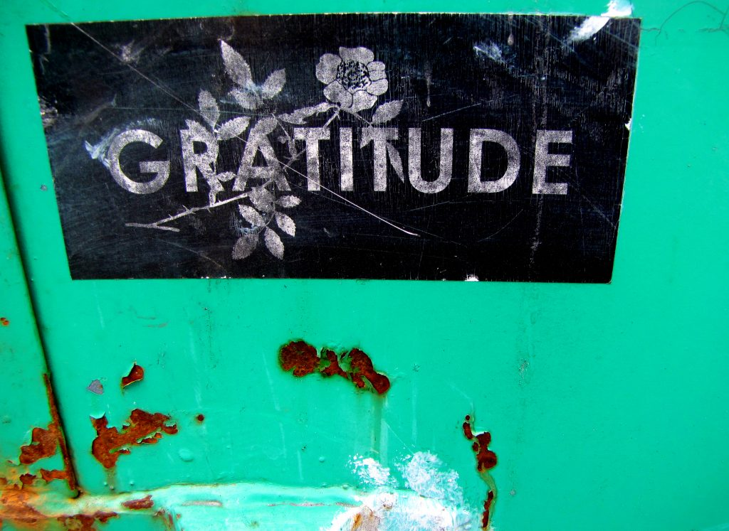 Gratitude and Rust